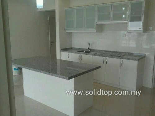 Malaysia Kitchen Cabinet Design Marble Granite Quartz Stone Countertops